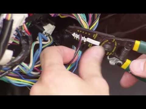 MOTOsafety Wired Vehicle Tracker Installation on