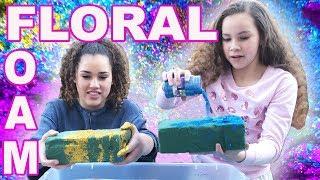 Video Floral Foam! (Haschak Sisters) download MP3, 3GP, MP4, WEBM, AVI, FLV Maret 2018
