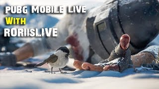 PUBG MOBILE LIVE   Rank Pull to Bronze V   New Update 0.15.0 is here   RORIisLIVE