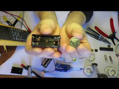 How To: Coin Cell to AA Battery Conversion Adapter