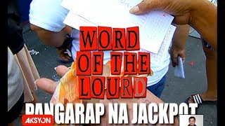 #WordOfTheLourd | Pangarap na Jackpot