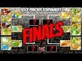 Jurassic Rock Puncher Tournament Finale | Plants vs Zombies 2 Epic MOD
