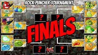 Jurassic Rock Puncher Tournament Finale | Plants vs Zombies 2 Epic MOD