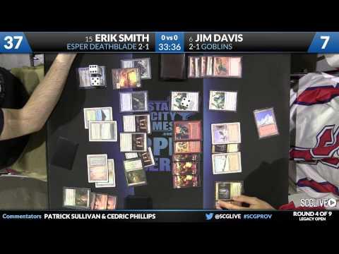 SCGPROV - Legacy - Round 4 - Jim Davis vs Erik Smith