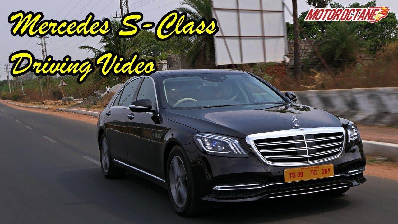 Mercedes S Class Driving Video In Hindi Motoroctane Youtube