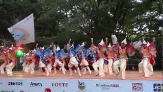 120825 原宿表参道元氣祭スーパー よさこい(初日) 文化館ステージ.