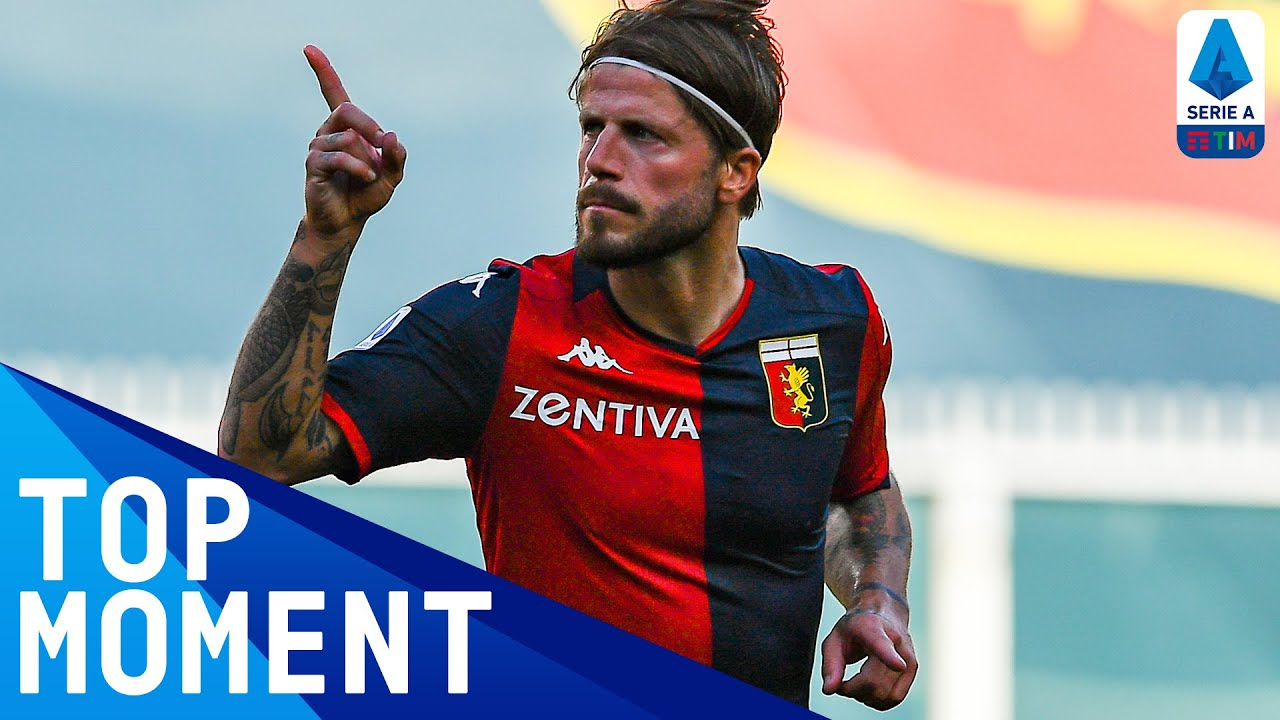 Lasse Schöne Scores Stunning Free-Kick After the Break | Genoa 2-0 SPAL | Top Moment | Serie A TIM