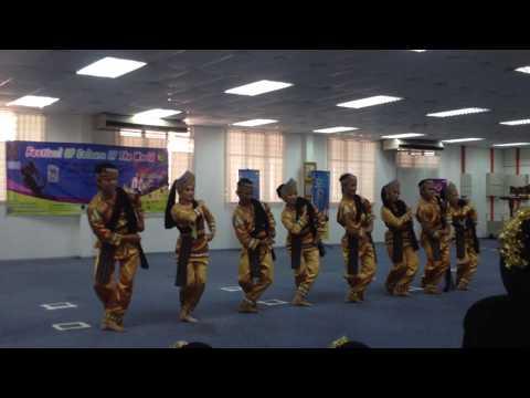 Tari Ma'Jun, Festival Of Colours Of The World, 28 Maret 2014, Universiti Teknologi PETRONAS Malaysia
