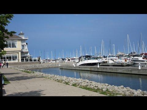 Lake Ontario & Bronte Harbor - Oakville, Ontario, Canada