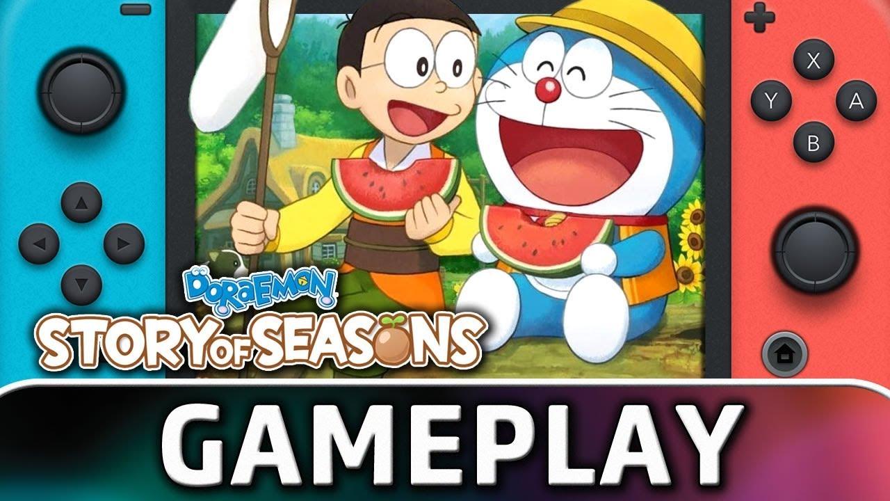 Doraemon: Story of Seasons | 25 Minutes of Gameplay on Nintendo Switch -  YouTube