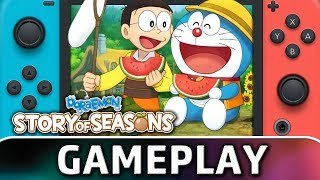 Doraemon: Story of Seasons | 25 Minutes of Gameplay on Nintendo Switch