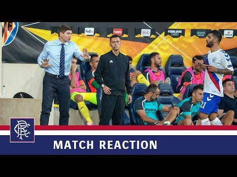 REACTION | Steven Gerrard | Villarreal 2-2 Rangers
