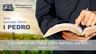 I. P. Pq. São Domingos - 04/08/2019 - Conselhos de Deus para sermos Santos