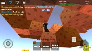 Roblox playing skywars