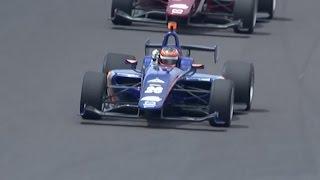 Matheus Leist wins Indy Lights Freedom 100