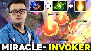 Miracle BEST INVOKER in Dota 2 - Cataclysm + Refresher Orb Build