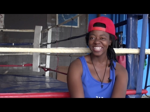 Female boxers in South Africa face adversity