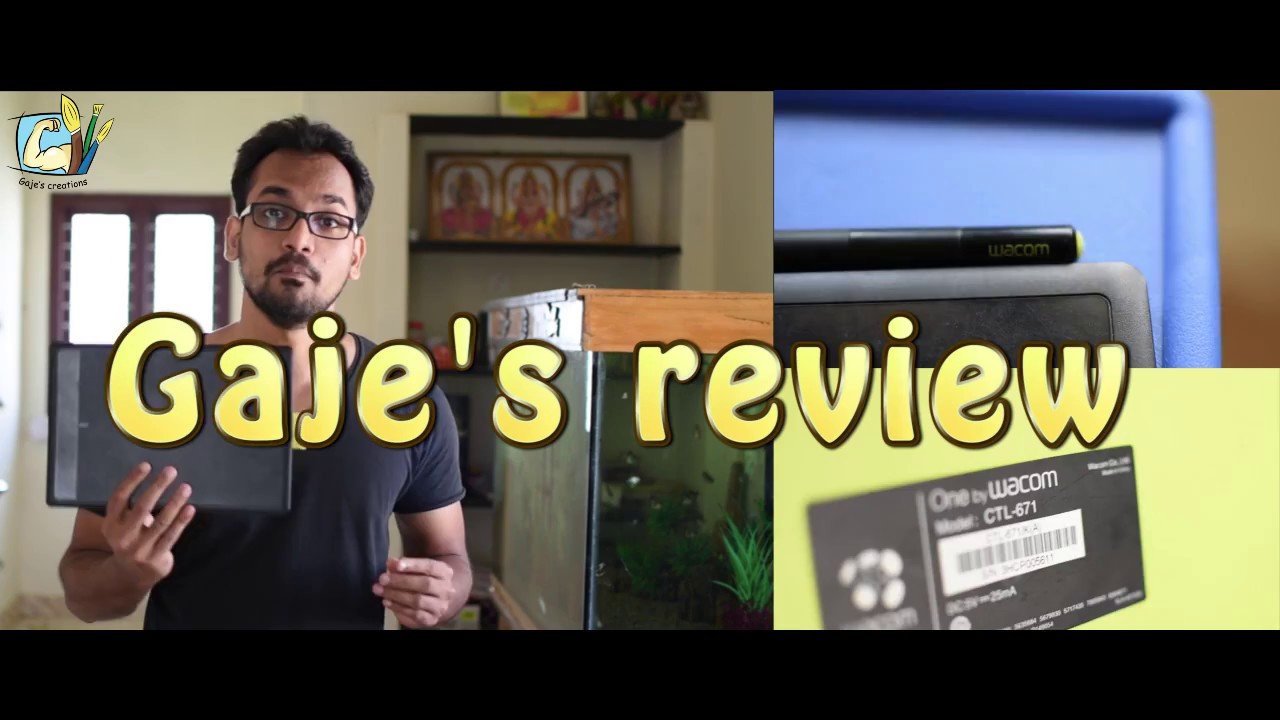 Wacom pen tablet review ( one by wacom CTL 671 )