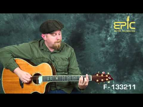 Play Sam Smith I'm Not The Only One guitar song lesson for acoustic with chords rhythms patterns