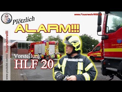 ALARM! Mitten In Der Fahrzeugvorstellung: MAN HLF 20 - LG Werste FF Oeynhausen (Teil 2/4)