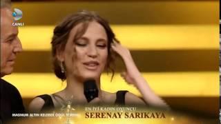 41.Altın Kelebek Ödül Töreni - En İyi Kadın Oyuncu Serenay Sarıkaya