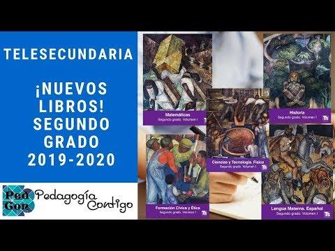 nuevos-libros-de-segundo-grado-para-telesecundaria-2019-2020|-pedagogía-contigo