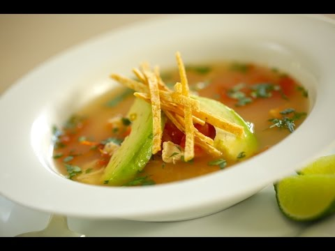 Easy Tortilla Soup With Chicken and Lime Recipe