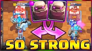 new deck clash royale golem is strong