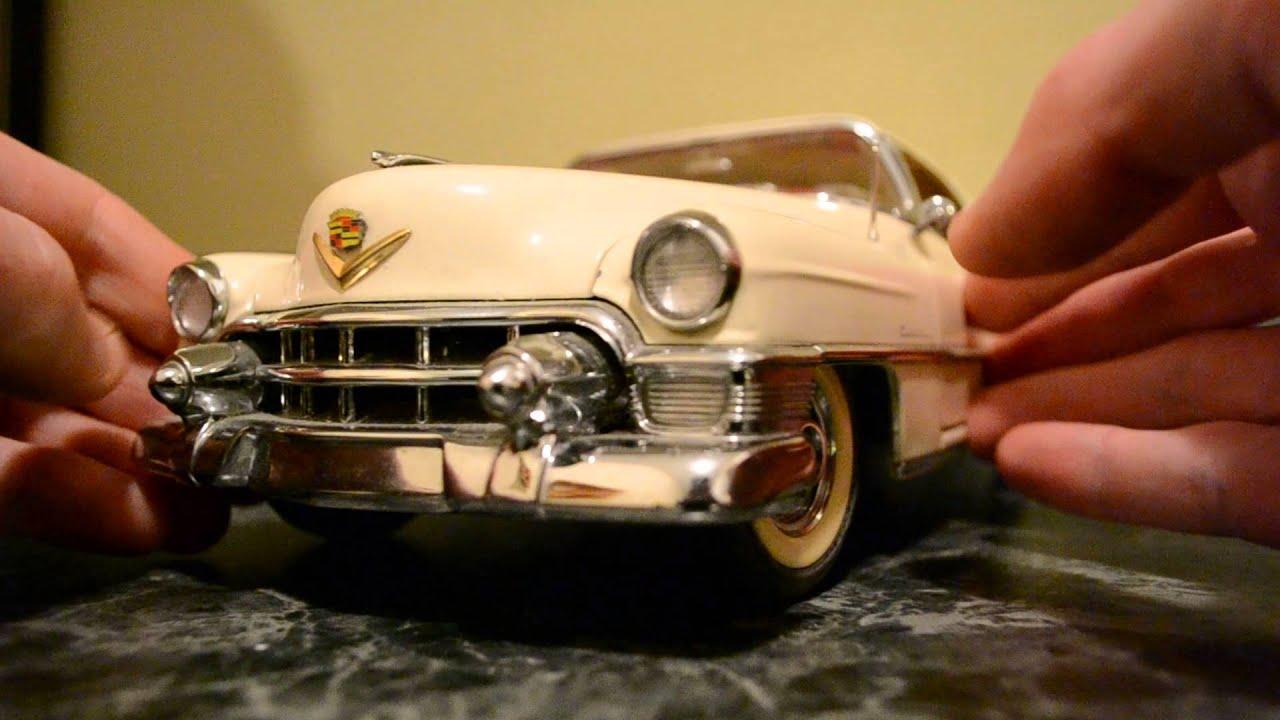 Danbury Mint 1953 Cadillac Eldorado 1 16 Diecast Youtube