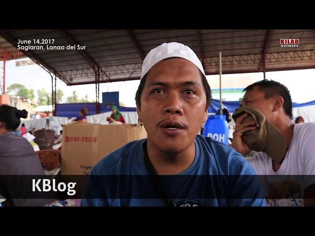 KBlog: Evacuation Center, Lanao del Sur