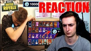 PAIN responds to 1000€ FOR FORTNITE *issued* PRANK!!! (All Skins Purchased) | BEASTLIKE