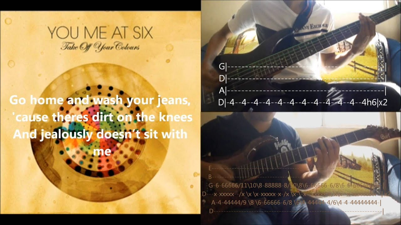 You Me At Six   Save It For The Bedroom   Cover, Tabs, Lyrics, Kenn  Jongezoon U0026 Walter B.