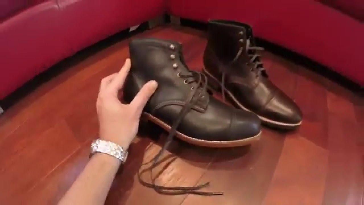 wolverine boots vs thursday