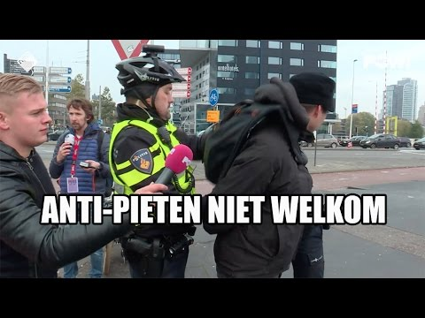 Anti-pieten niet welkom in Rotterdam