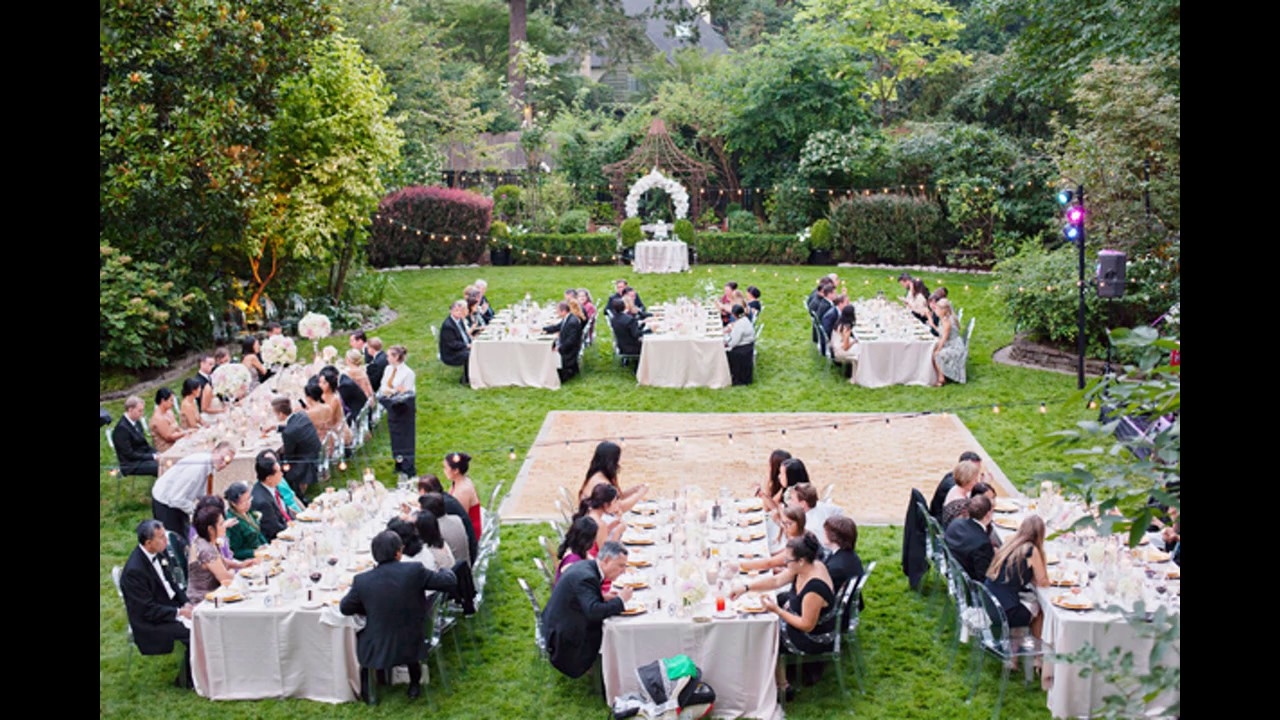 Ideas de dise o de boda jard n youtube for Ideas para boda en jardin