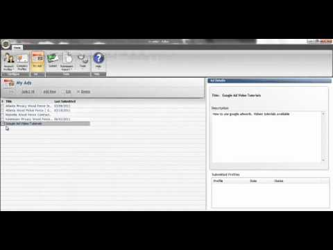Classified Ad Submitter Software Used To Post Your Classified Ad Submissions