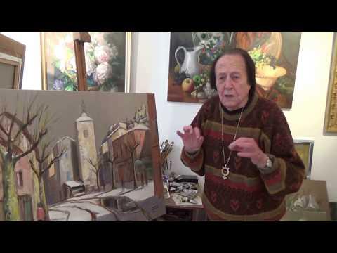 Draguignan & Salernes Cours de peinture l'école des Beaux-Arts Prof Jean Frisat en Dracénie Var
