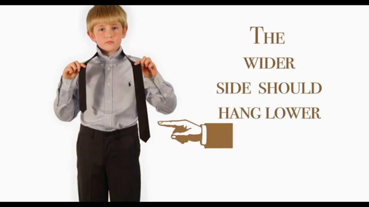 How to tie a tie childrensalon youtube how to tie a tie childrensalon ccuart Image collections