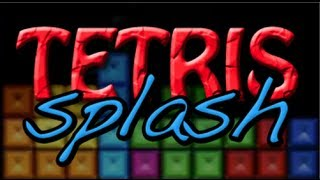 Tetris Splash for Xbox 360 Arcade.  Gameplay and Review