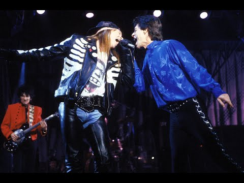 The Rolling Stones feat.  Axl Rose & Izzy Stradlin-  Salt of the Earth (Live)