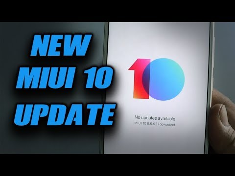 NEW MIUI 10 8.6.6 UPDATE for REDMI NOTE  5  PRO