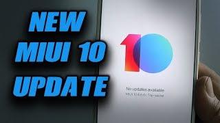 NEW MIUI 10 8.6.6 UPDATE for REDMI NOTE  5  PRO