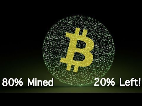 80% of all Bitcoins already Mined - 4.2 Million Left to be Mined - What This Means For Crypto Market