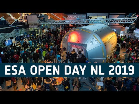 ESA Open Day in the Netherlands 2019