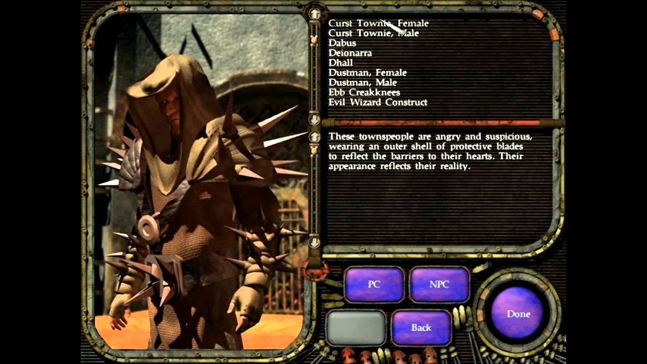 PLANESCAPE TORMENT 987 modded gog version