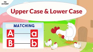Matching upper case and lower case letters -  capital and small letters