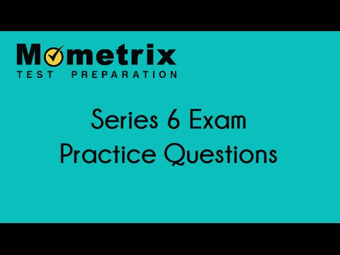 Series 6 Exam Prep - Free Sample Questions For The Series 6 Exam