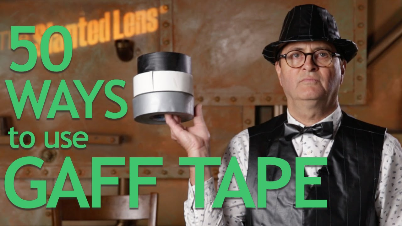 50 Ways To Use Gaff Tape Youtube