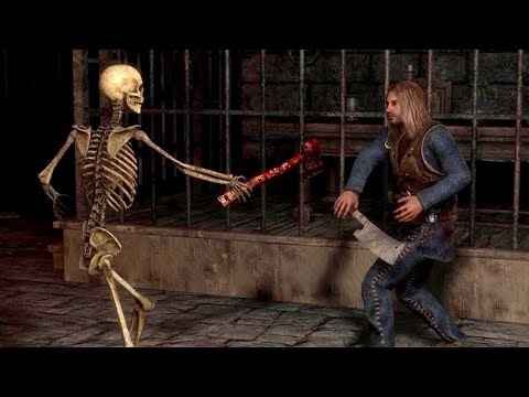Skeletons vs Humans Exanima Arena NPC Battles / Episode 11 |