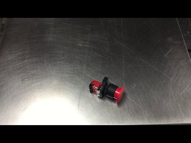 Marinator Emergency Stop Button Install